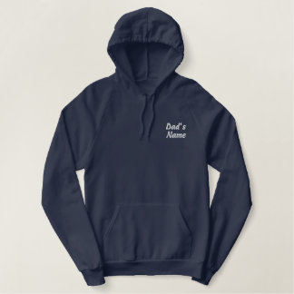 Hooded Zip Up Embroidered Fleece Embroidered Hoodie