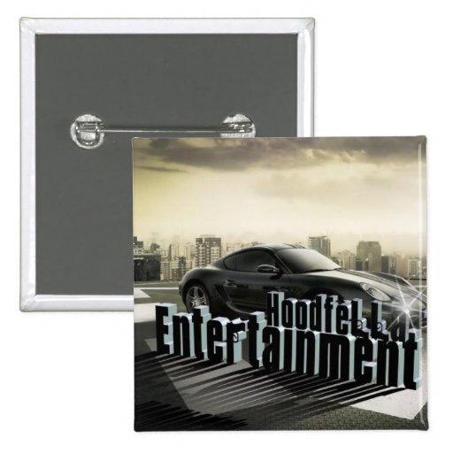 HOODFELLA ENTERTAINMENT #1 ...2012 CONCERT BUTTON