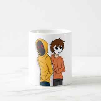 Hoodie and Masky Mug