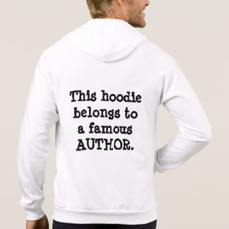 Hoodie - Famous Author