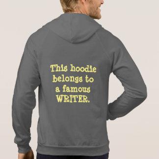 Hoodie - Famous Writer (Dark Fabric)