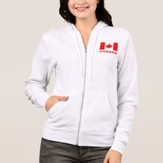 Hoodie with Canada flag | Canadian maple leaf
