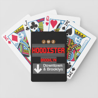 Hoodister Brooklyn New York Bicycle Playing Cards