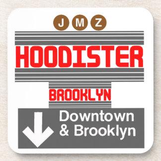 Hoodister Brooklyn New York Drink Coasters