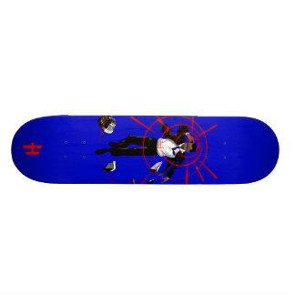 Hoodman Probama Blue Custom Skate Board