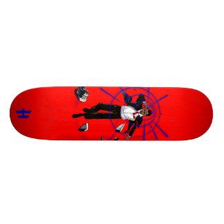 "Hoodman ""Probama"" Red Skateboards"