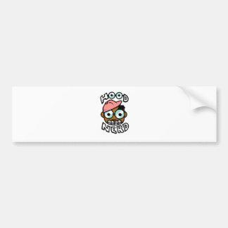 Hoodnerd Logo Pink Bumper Stickers