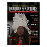 Hoodoo and Conjure Quarterly Premiere Issue Cover Poster
