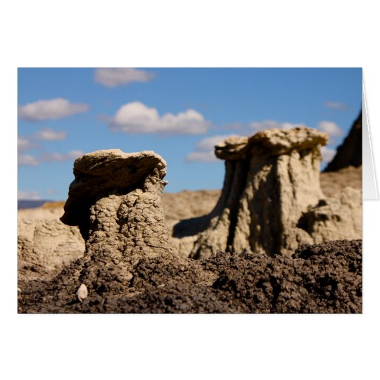 Hoodoo, San Juan Badlands Card