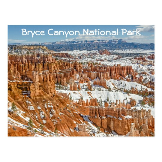 Hoodoos at Sunset Point Bryce Canyon National Park Postcard