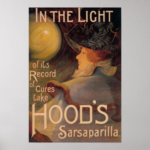 Hood's Sarsaparilla Promotional Poster