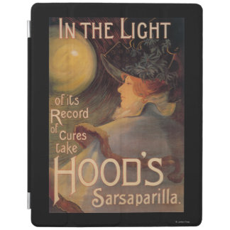 Hood's Sarsaparilla Promotional Poster iPad Cover