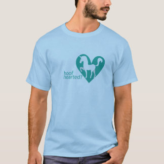 Hoof Hearted Green Heart T-Shirt