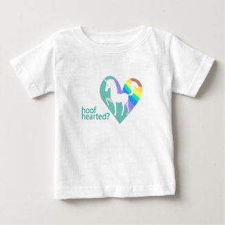 Hoof Hearted Toddler Unicorn Rainbow shirt