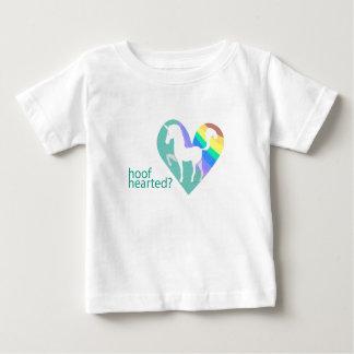 Hoof Hearted Toddler Unicorn Rainbow shirt