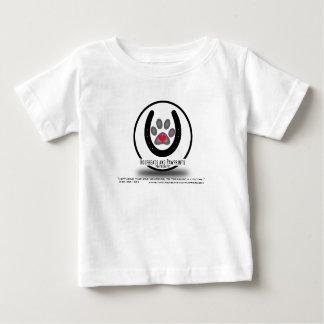 Hoofbeats and Pawprints Simple Logo Baby T-Shirt