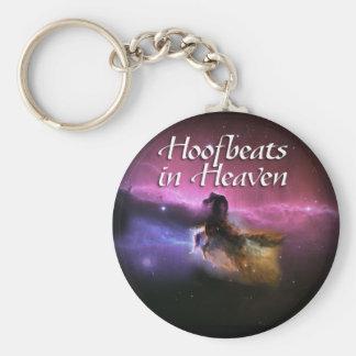 Hoofbeats in heaven keychain
