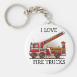 Hook and Ladder Fire Truck Keychain ILFT