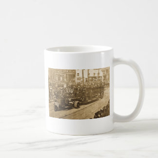 Hook and Ladder on Parade - Vinatge Coffee Mugs