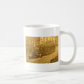 Hook and Ladder on Parade - Vinatge Mugs