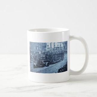Hook and Ladder on Parade - Vinatge Coffee Mug