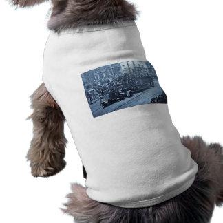 Hook and Ladder on Parade - Vinatge Sleeveless Dog Shirt