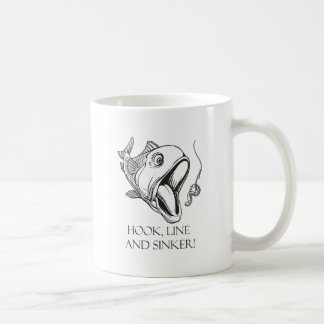 Hook Line & Sinker Basic White Mug