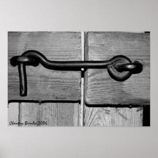 Hook lock poster