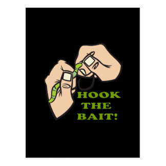 Hook The Bait Post Card