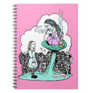 Hookah Smoking Caterpillar Notepad Note Book