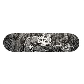 Hookah Smoking Catterpillar 21.6 Cm Skateboard Deck