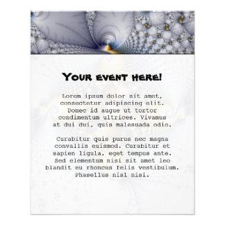 Hooked And Netted - Fractal Personalized Flyer