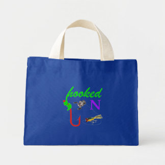 hooked on bait casting tote bags