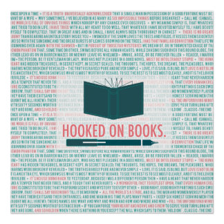 Hooked On Books! Poster