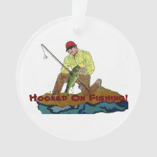 Hooked On Christmas Ornament