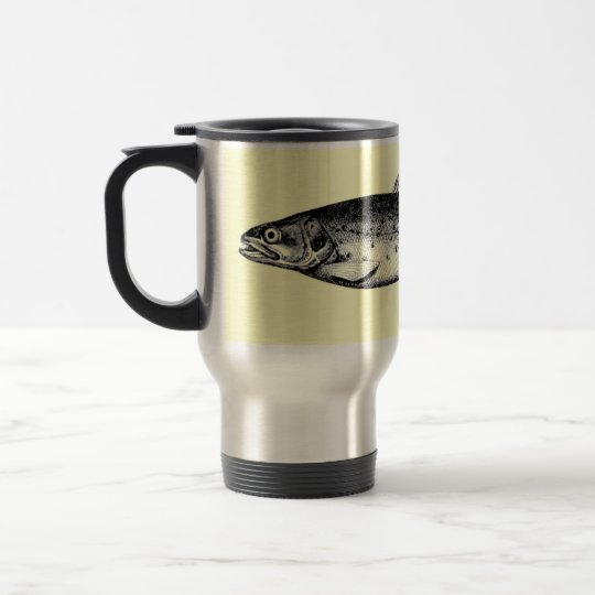Hooked on Coffee Travel Mug