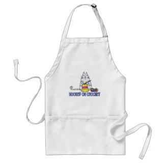 hooked on crochet standard apron