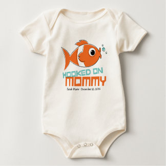 Hooked on Mummy Baby One Piece Baby Bodysuit