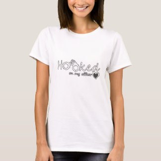 Hooked On My Officer Great Police Officer Gift T-Shirt