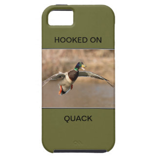HOOKED ON QUACK CELL CASE iPhone 5 COVER