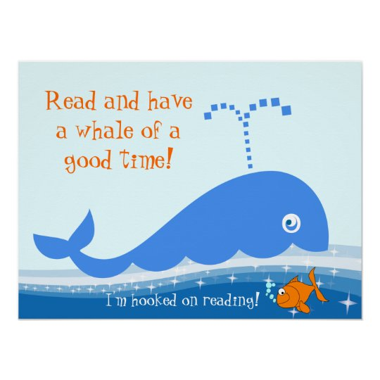 Hooked on Reading Literacy Poster