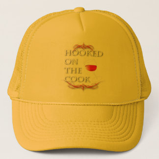 Hooked On The Cook Trucker Hat