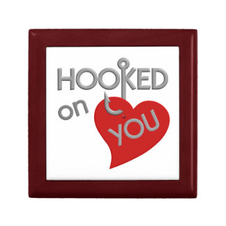 Hooked On You Valentine's gift box