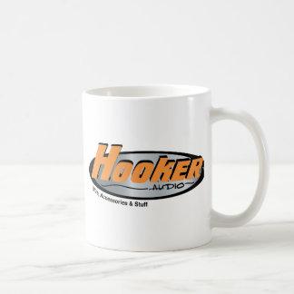 Hooker Audio Merchandise Basic White Mug