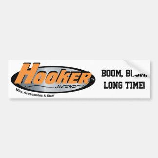 Hooker Audio Merchandise Bumper Sticker