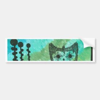 Hoolandia (c) 2013 – Contrast Owl Bumper Sticker