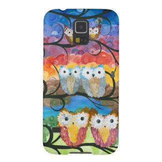 Hoolandia (c) 2013 – Owl Expressions Series Galaxy S5 Cover