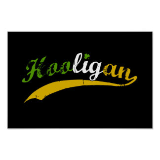 Hooligan $24.95 Graphic Art Wall Poster