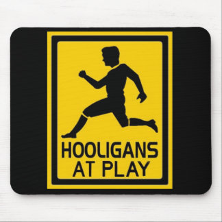 Hooligans At Play Mouse Mat