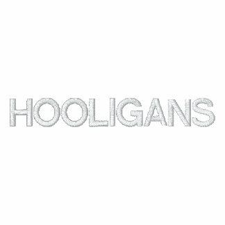 Hooligans Embroidered Hooded Sweatshirt